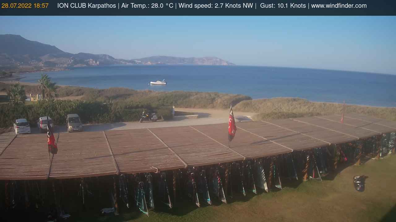 Live Webcam Image From ION CLUB Karpathos