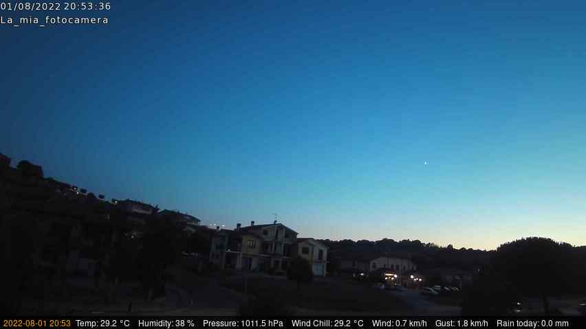 Webcam a Colonnetta di Fabro (Terni)